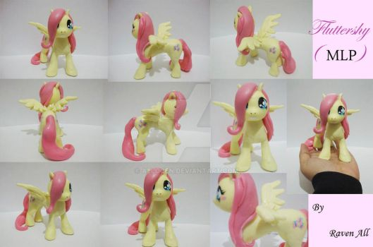 Fluttershy Sculp by allocen