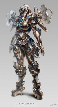 Project D-Heavy Armor G by yuchenghong