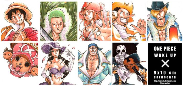 One Piece X Wake Up by Isara-La