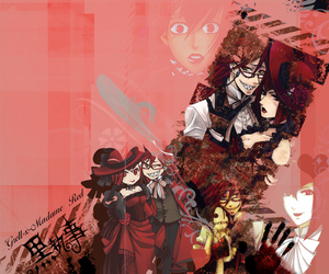 Grell-x-MadameRed_wallpaper by MasterKenny