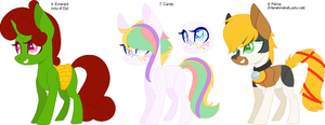 6-8 of 100 themes adoptable by CheshireGrinAdopts