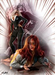 MARY JANE WATCH OUT FOR BLACK CAT ! by ISIKOL