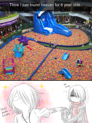 what do you mean I cant go into the ball pit by CNeko-chan