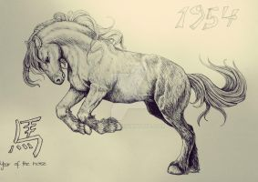 Year Of The Horse by Thyria