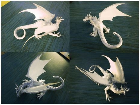 Dragon sculpture. by Nyx--Nyx