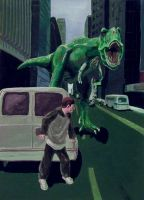 T-Rex Attack by tadamson