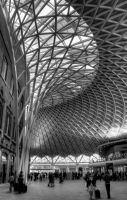 King's Cross Station, London by schiesa1