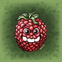 Three Teeth - Raspberry by Manu-2005