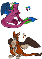 Adoptables by Sadie-Dkirin
