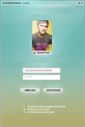 InstantMessengerDesign - Login by Paveman