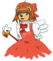 Card Captor Sakura Bear by Le-Smittee