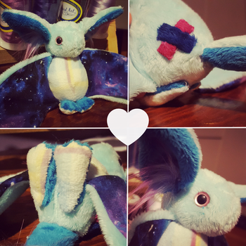 Cosmos the Blanket Dragon Plushie by Sloth-Adopts