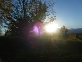 The Sun as it Begins to Set by THISxISxMYxNAME