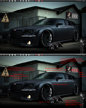 Parking 2011 - Crysler 300c by ezio