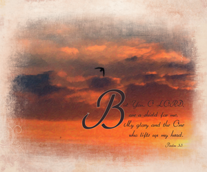 psalms 3:3i by madetobeunique