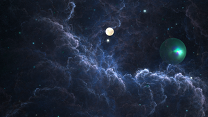 A Storm in Space by BGai