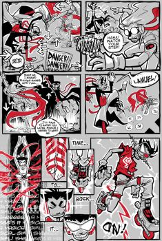 PAACBT Round 6, PT 1, page 1 by squidbunny