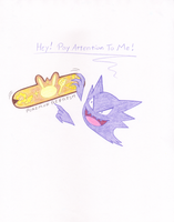 My New Haunter is Needy! by LuckyLadyXandra