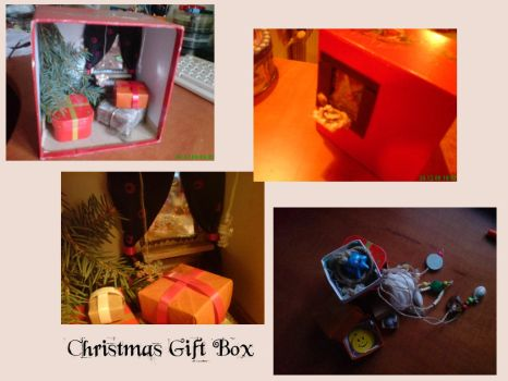 Christmas Gift Box by Anemone-Fairy
