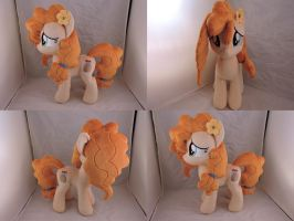 MLP Pear Butter Plush (commission) by Little-Broy-Peep