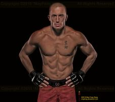 GSP, Georges St-Pierre by MayFong