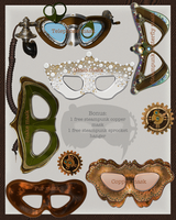 Exclusive Maskpack by Toefje-Kunst