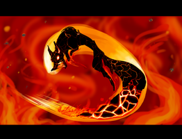 Lava Fox by Wolf-Shadow77