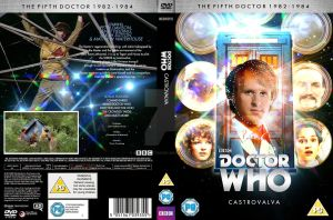 Doctor Who Castrovalva Custom DVD Cover by GrantBattersby