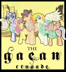 The Gaean Crusade cover by AnibarutheCat