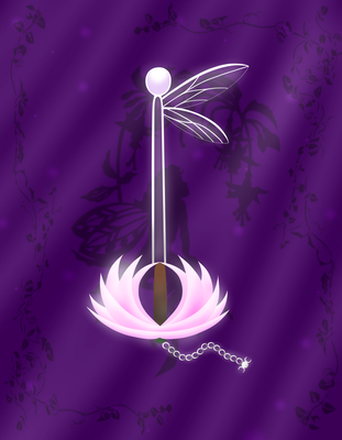 Fairy's Dance Keyblade by Eliyora