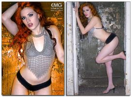 Chainmail Bikini-EMG Studios by OfficialSerenaStar