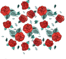 Roses PNG by milkyanunnie