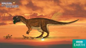 Walking with Dinosaurs: Psittacosaurus by TrefRex