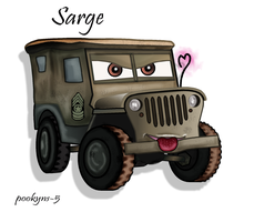 sarge the jeep by pookyhorse