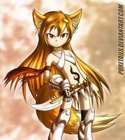 Foxy Assassin by Puretails