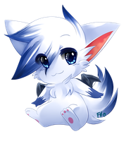 Chibi Commission for bluefire420 by Hideaki-FV2