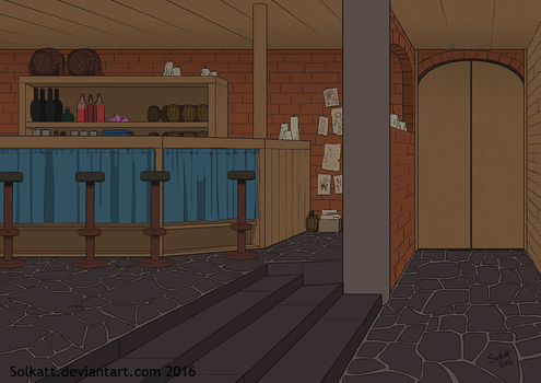 interior background by Solkatt