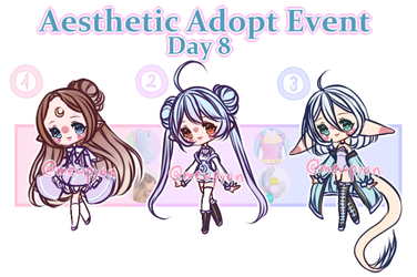 Aesthetic Event: Day 8 [CLOSED] by Mewpyonadopts