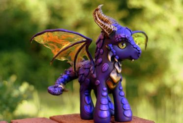 Purple Dragon by BarbedDragon by BarbedDragon