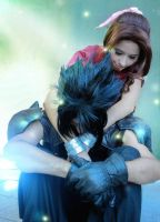 FFVII:  We're meant to be together, until the end. by DidsRainfall