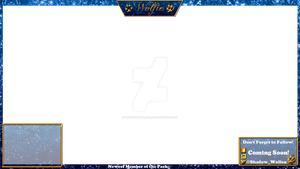 My Twitch Overlay With Camera Box by Shadow-Wolfen