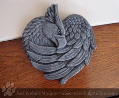 Stone Griffon Wall Plaque by Nightlyre