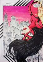 Marvel Fleer Retro - Spider-Woman by BREED72