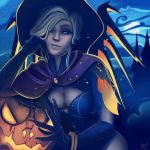 Mercy, witch costume  by mgahn