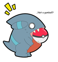 Gible Gumball? -Colored-