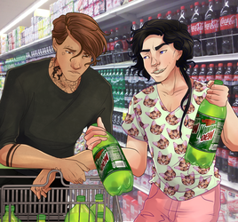 Grocery Shopping by Decora-Chan