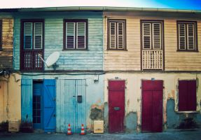 Saint Pierre Street View by Jayleloobee