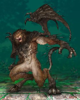 Anima: Manticore by Wen-M