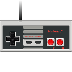 NES controller icon by bokuwatensai