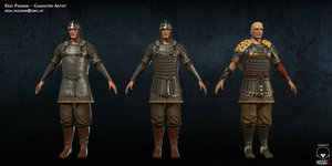 Byzantine Mercenaries by Biomag83